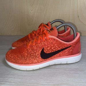 Nike Free RN Distance Running Shoes 827116-600 7.5